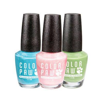 Color Paw Nail Polish Paw Nails Dog Nails Nail Polish