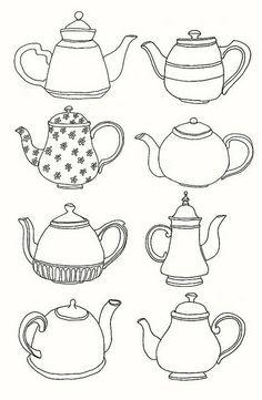 108 Sol Teteras Dibujo Dibujos Para Bordar Y Patrones