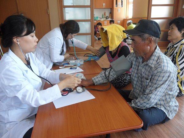 목포시보건소, 무의도서 방문건강서비스