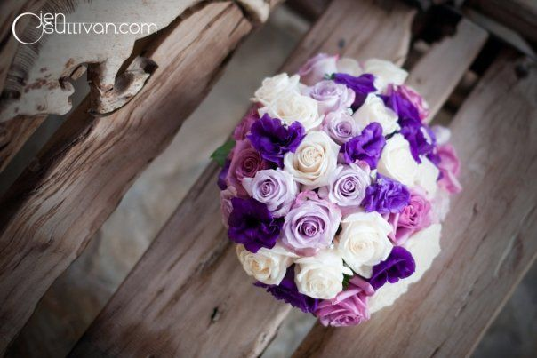 Love this combination of purples!