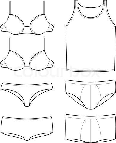 underwear template croquis pinterest underwear templates and