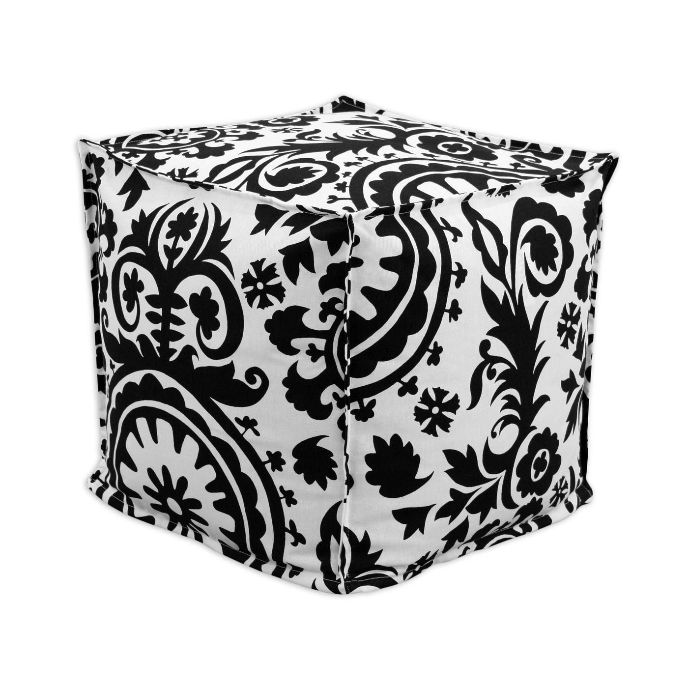 Chooty & Co. black and white pouf!!! LOVE THESE! Ottoman