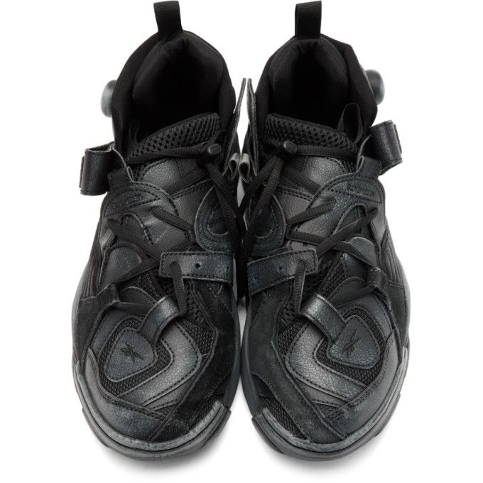 a812d84bafea Vetements - Black Reebok Edition Genetically Modified Pump High-Top Sneakers