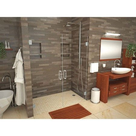 42x60 Barrier Free Shower Base With Right Drain Tile Redi 4260rbf