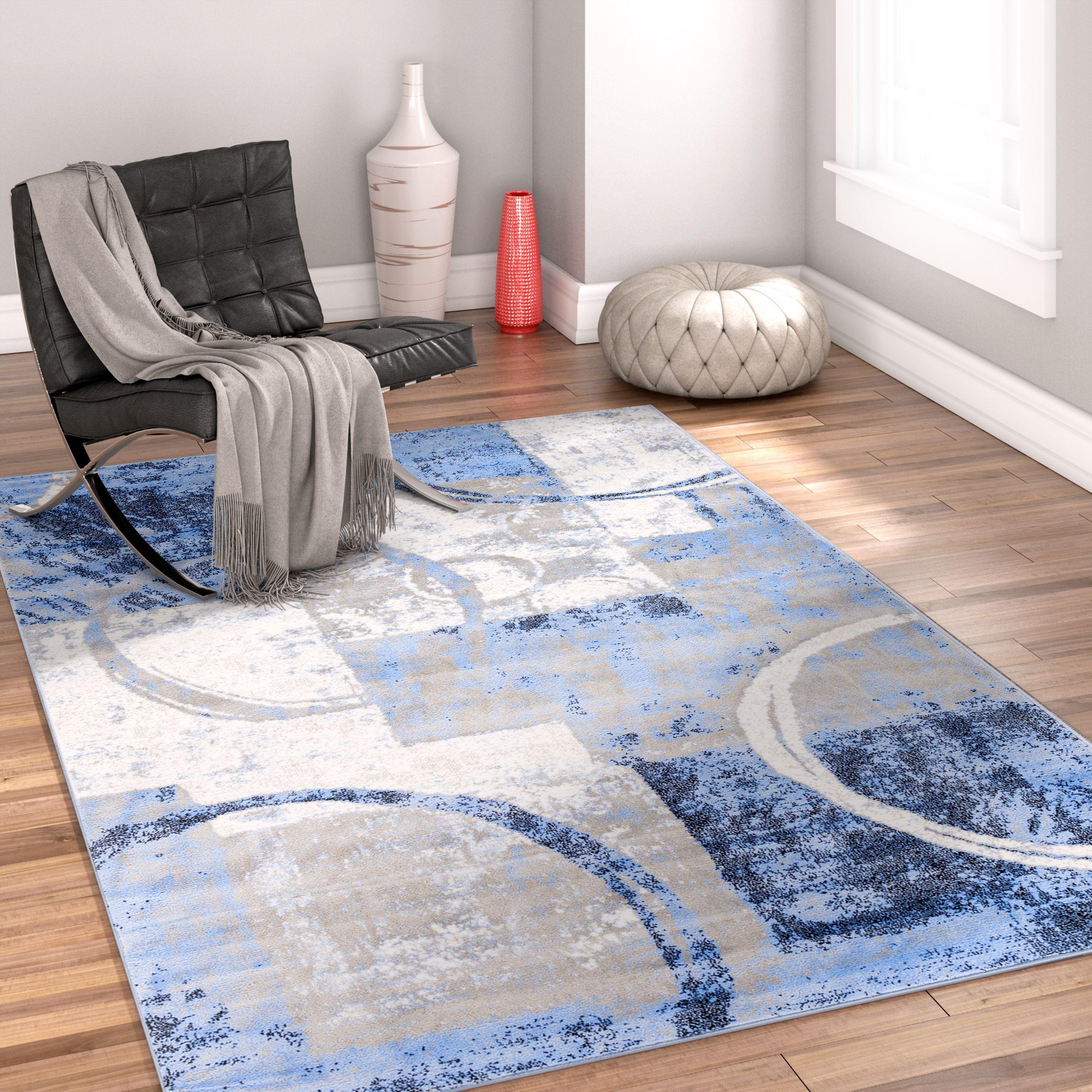 Ash Blue Indoor Area Rug Area rugs, Rugs, Decor