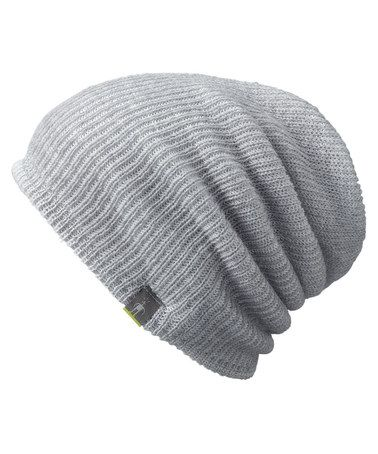Light Gray Heather Slouch Reversible Merino-Blend Beanie from SmartWool d4ca7b328a07