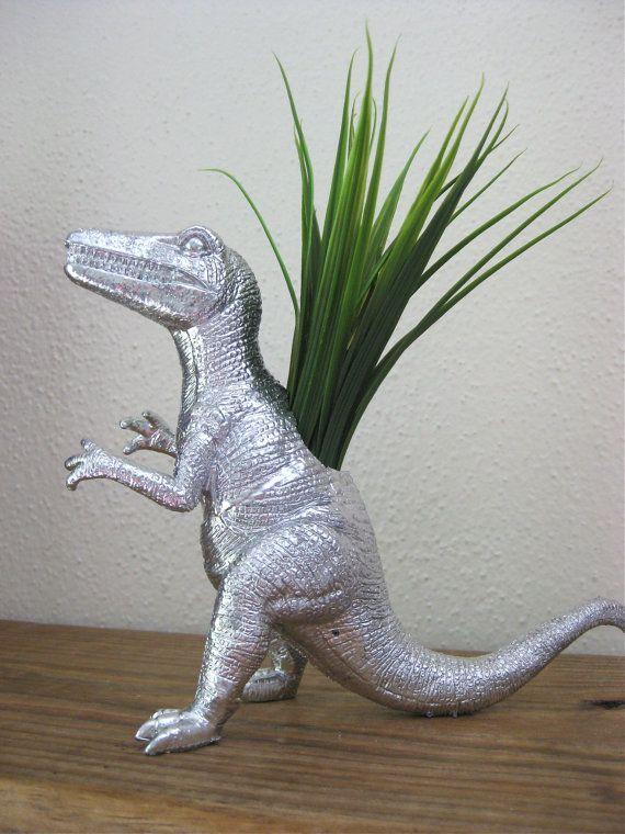 Silver Dinosaur