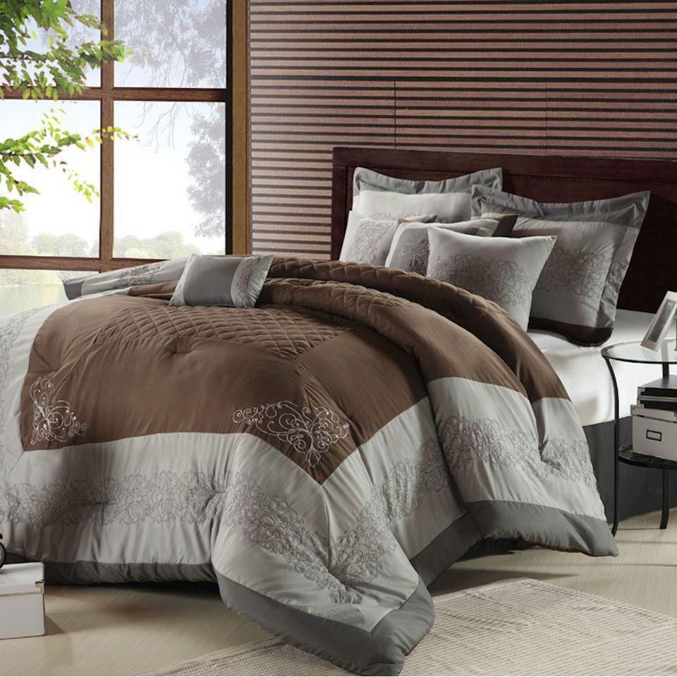 I like these colors together Comforter sets, Elegant