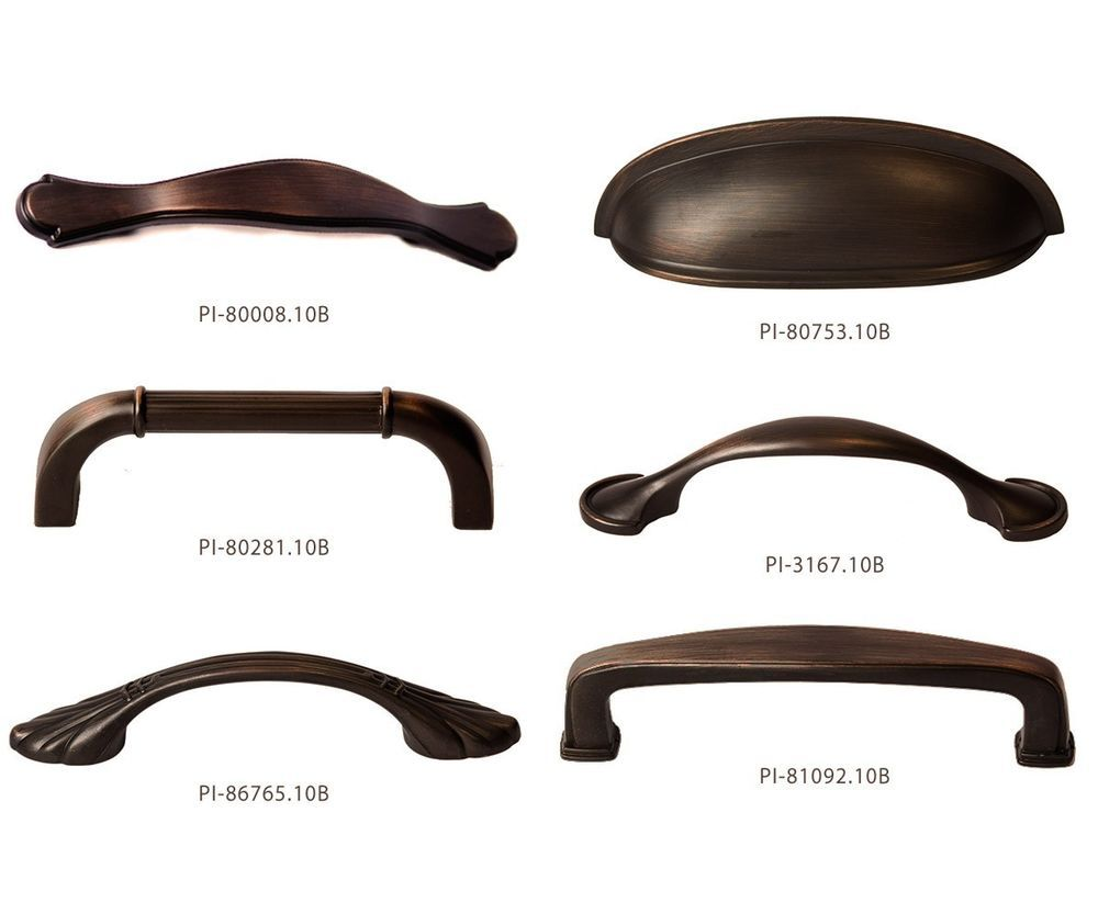 Details About Oil Rubbed Bronze Kitchen Cabinet Hardware Pulls