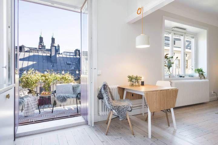 Un hogar completo en 36 m² Decoracion espacios pequeños, Piso - decoracion de espacios pequeos