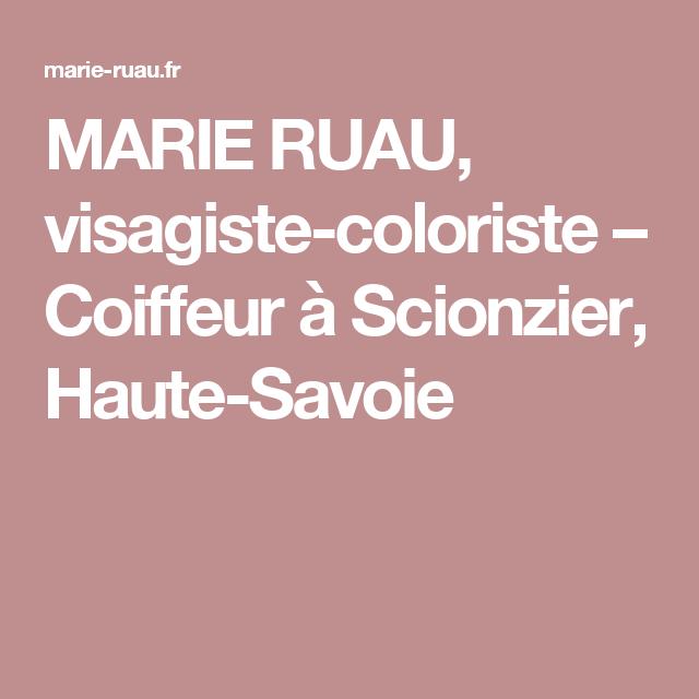 Marie coiffure scionzier