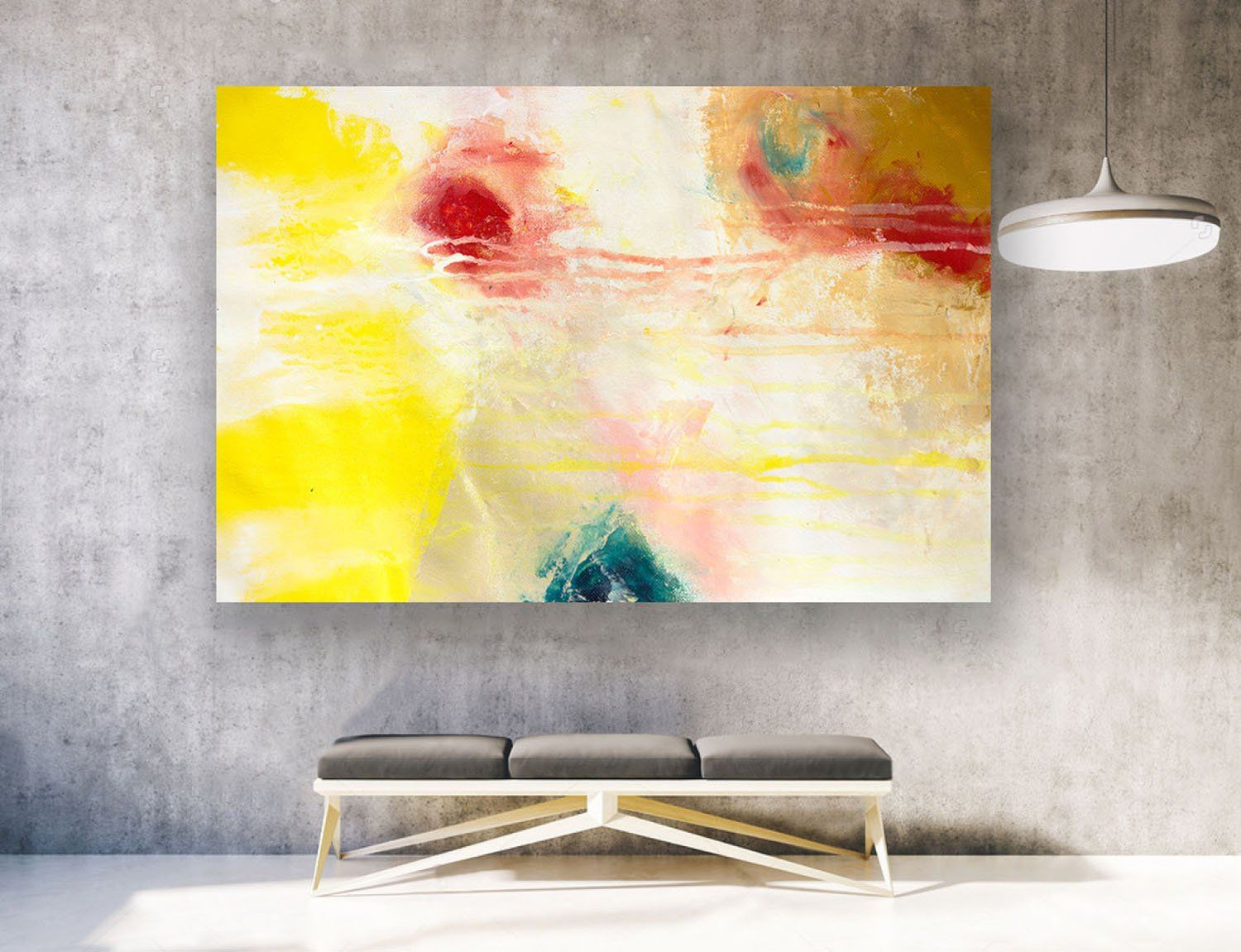 Extra Large Wall Art, Contemporary Art, Large Original Painting On ...