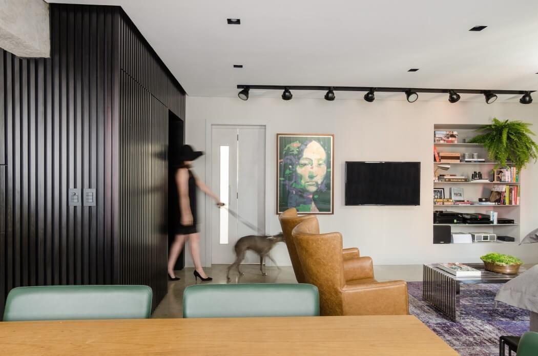 Contemporary GW Apartment in Brazil by Ambidestro
