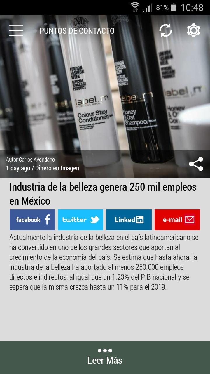 #Born2Invest: Las mejores noticias de negocios y finanzas de fuentes confiables. Aplicación Android gratis. Descarga ahora. #mexico #beautyindustry #makeup