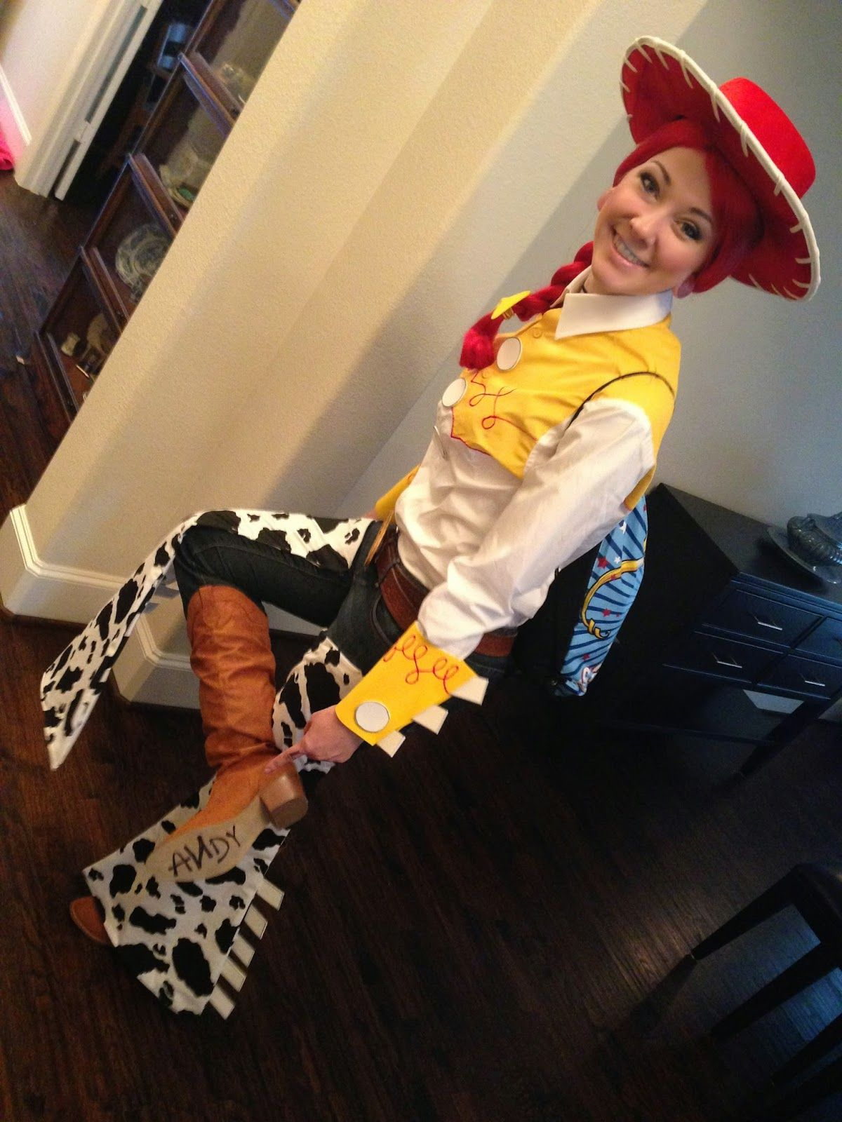 GLITZY GEEK GIRL  Tutorial  Jessie from Toy Story Cosplay  67ac4a368d1