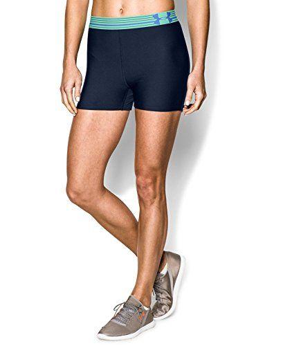 Under Armour Women UA HeatGear 7/'/' Compression Shorts