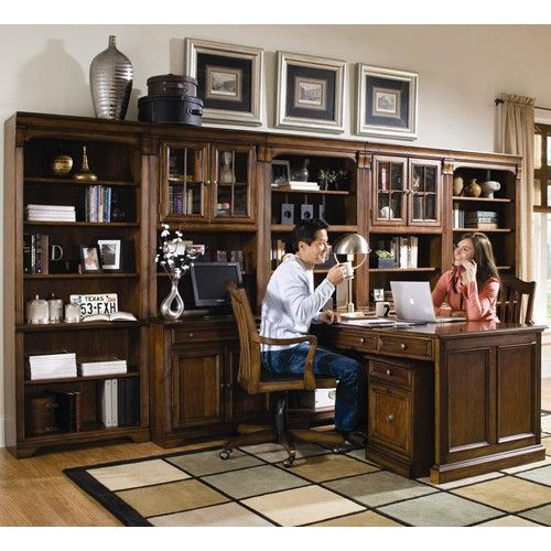 Brookhaven Office Wall Unit By Hooker Furniture