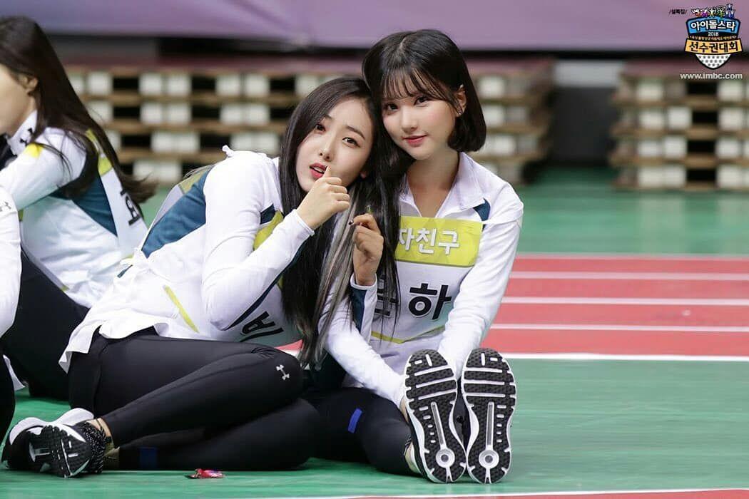 Eunbi Line at 2018 Isac