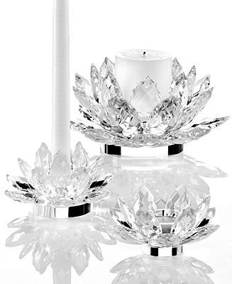 Lighting By Design Candle Holders Lotus Collection Candles Amp