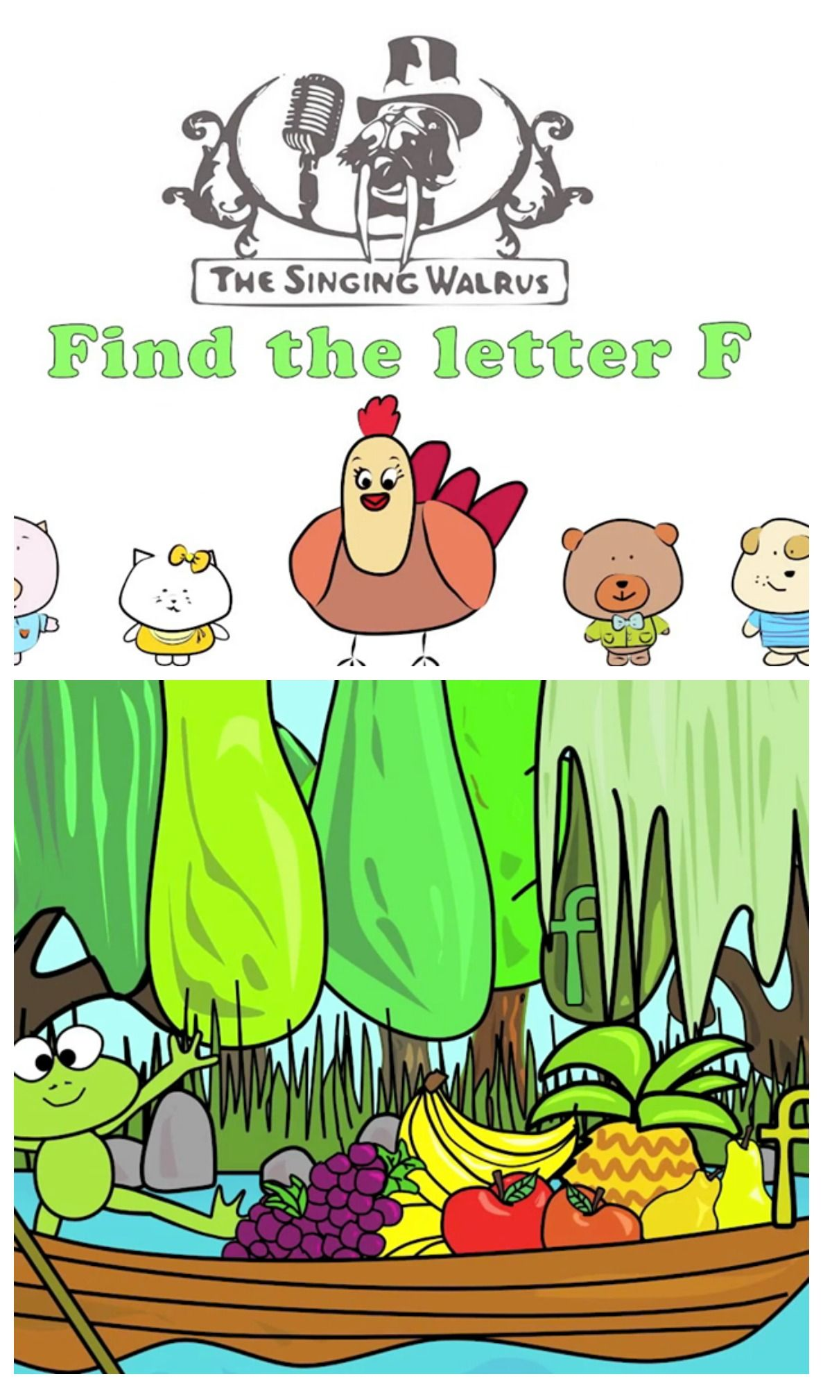 Find The Letter F By The Watching This Video