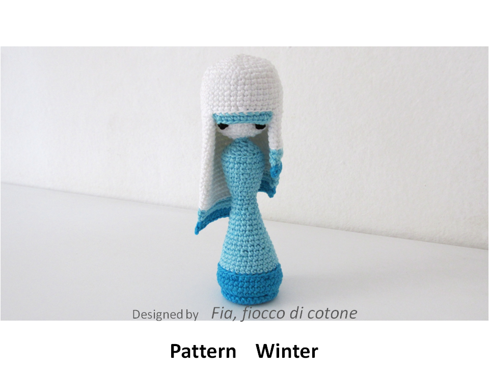 Love the two tones of blue with the white | dolls | Pinterest ...