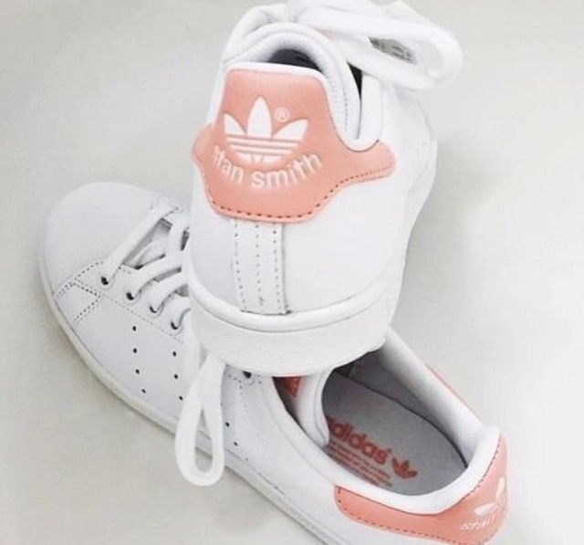 Peach coloured shoes | Adidas stan smith, Adidas sneakers