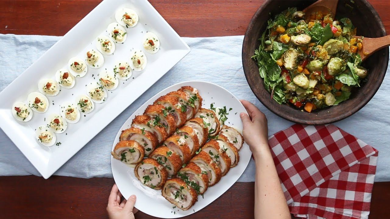 Dinner Party For 4 Menu Ideas Part - 21: 4 Recipes For A Tasty Dinner Party - YouTube