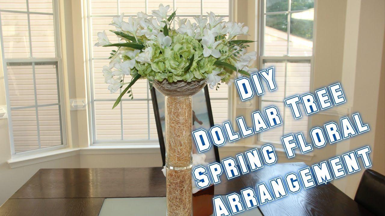 Diy dollar tree floral arrangement i am teejaay dollar