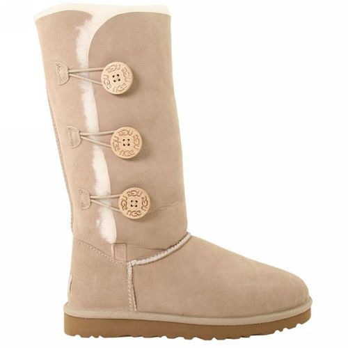 e3b1da7ffb2 UGG Boots - Bailey Button Triplet - Sand - 1873 | Shoes | Uggs for ...