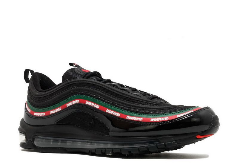 Nike Air Max 97 Og Undftd Undefeated Black Speed Red Gorge