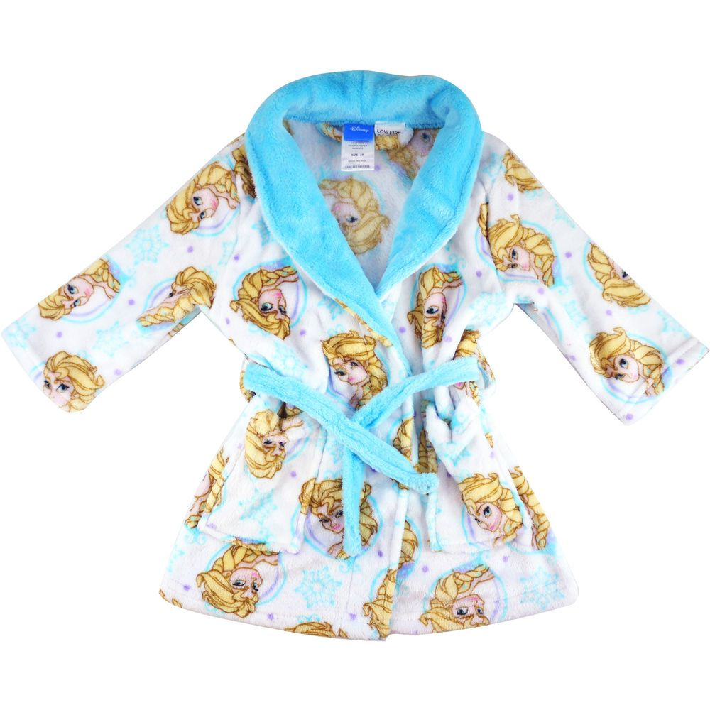 Kids Frozen RobeDisney Frozen Dressing GownDisney Night Gown
