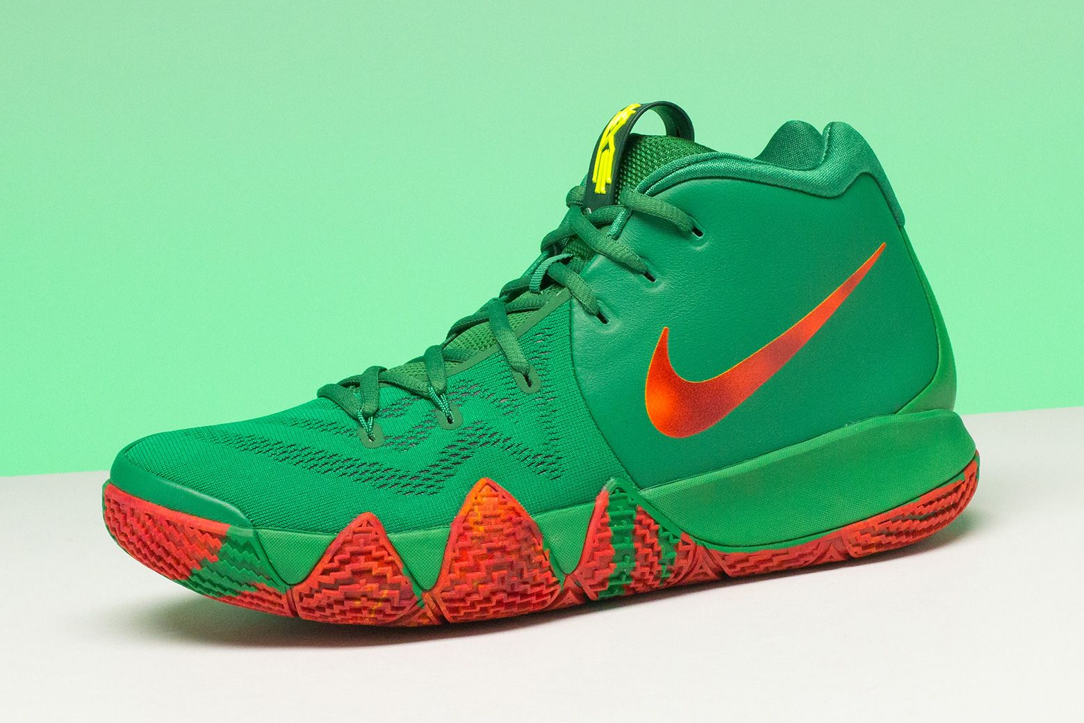 "Nike s Kyrie 4 ""Fall Foliage"" PE released exclusively at House of Hoops in  Harlem 4f370e4fe"