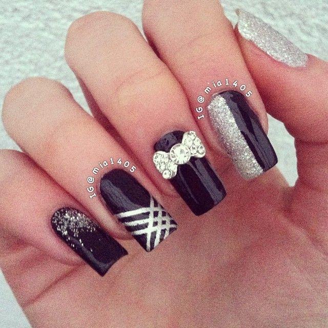 Nail Art Dan Extension Kuku: Instagram Photo By Mia1405 #nail #nails #nailart