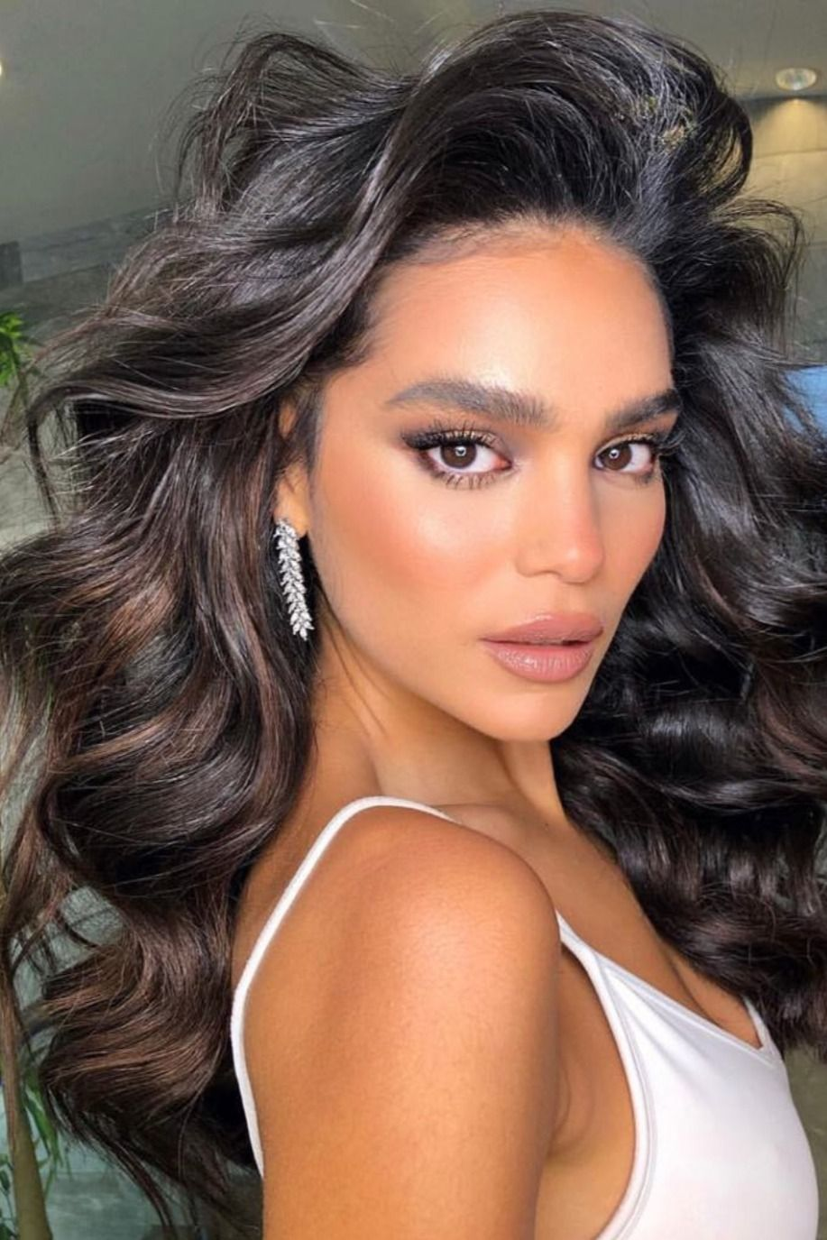 beauty#face#hairstyles#women#hair#volume#waves#fashionable#stylish ...