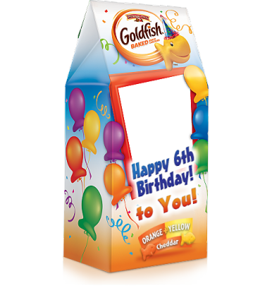 Customized Party Favor | Goldfish My Way