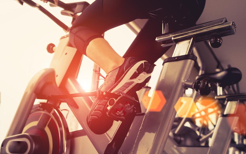 Exercise Bike Cardio Workout Fitness Gym #Gym #Cardio #Bike #Fitness #Exercise #Workout