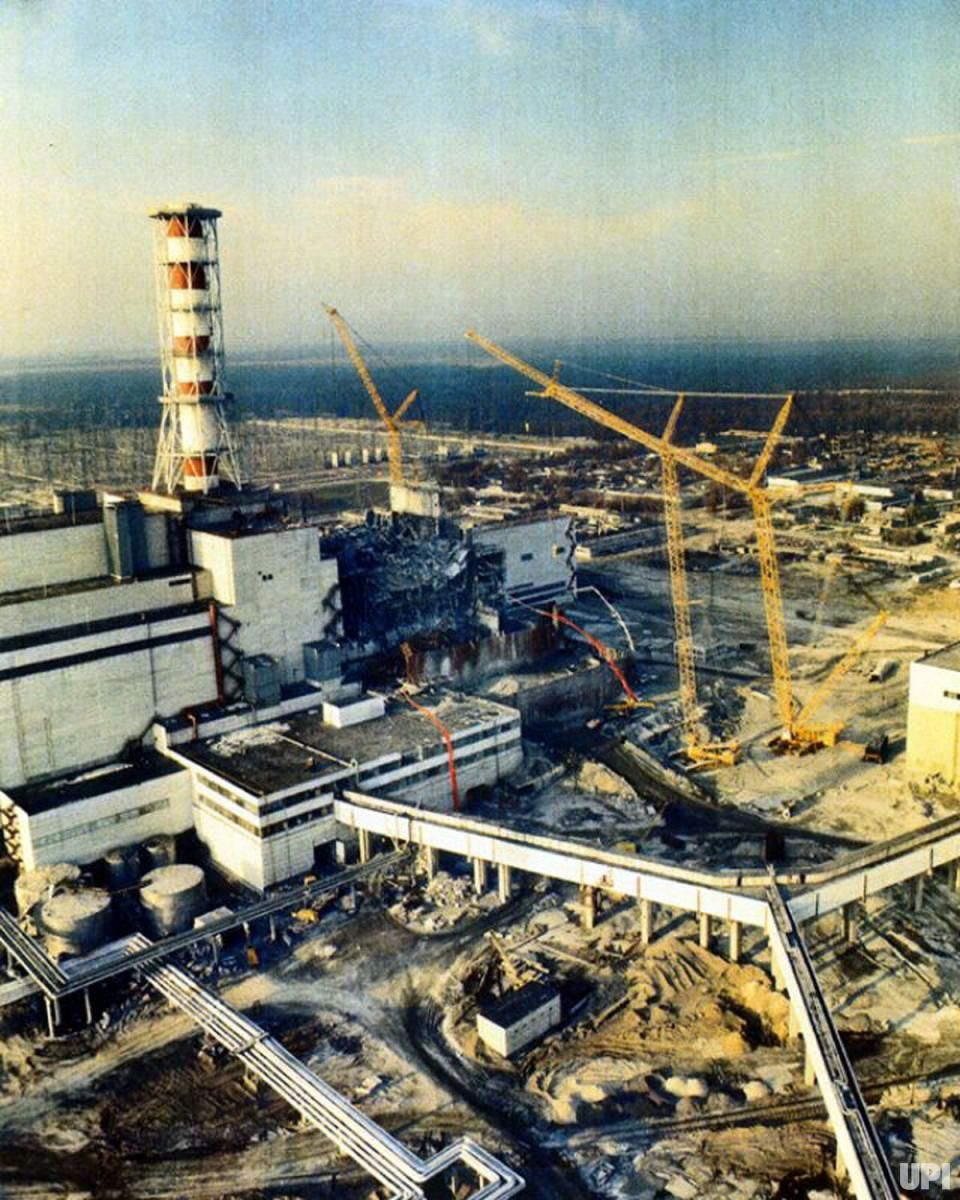 The 25th Anniversary Of The Chernobyl Disaster Upi Com In 2019