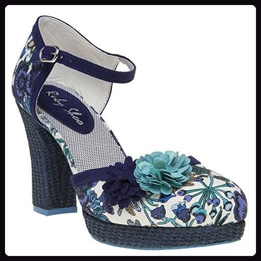 Ruby Shoo Flo Damen Schuhe Blau ddD0iJT