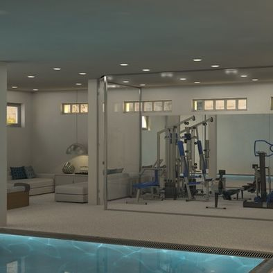 home gym lap pool design pictures remodel decor and