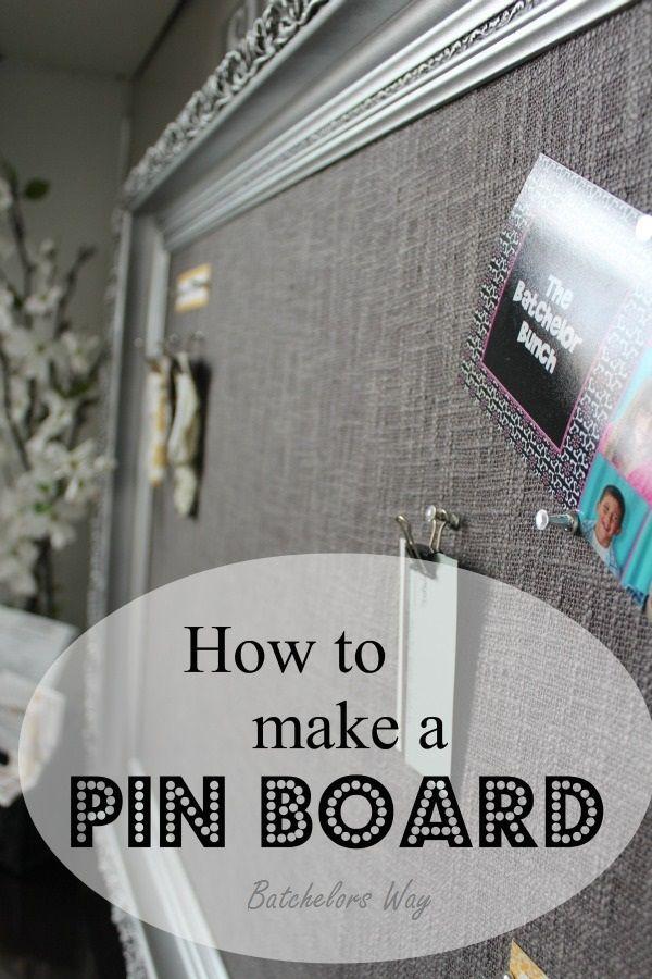 Batchelors Way: Office Redo - Pin Board of Dreams   Craft Ideas ...