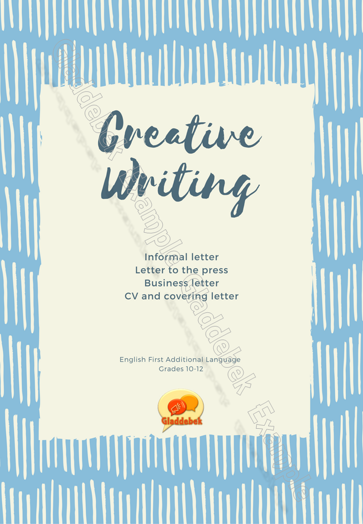 transactional texts  letters and cv english first