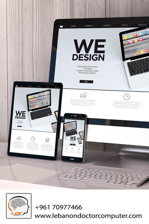 Top Website Developer In Lebanon 96170977466 In 2020 Website Design Website Development Professional Website