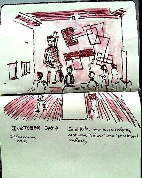 #Inktober Day 4