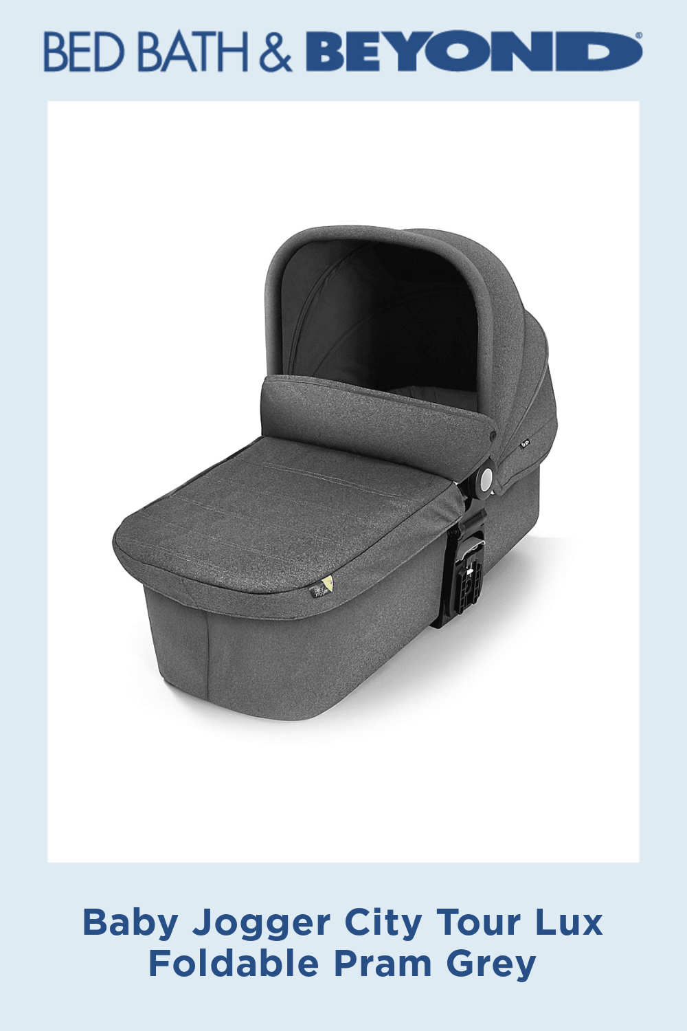 Baby Jogger City Tour Lux Foldable Pram Grey Products