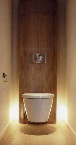 ou alors pour les toilettes du bas vous faites ca!!! c'est trop beau!