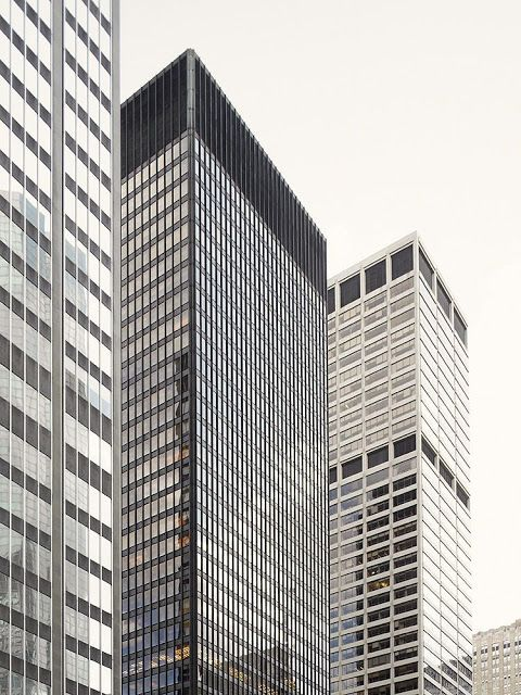 Mies Van Der Rohe Seagram Building New York Architecture