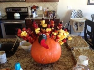 Pumpkin turkey?