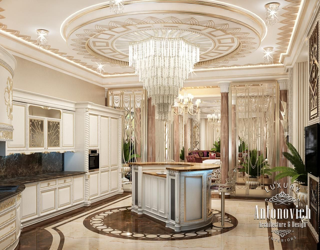 Luxurious Kitchen Designs Kitchen Design In Dubai Luxury Kitchen & Dining Photo 7