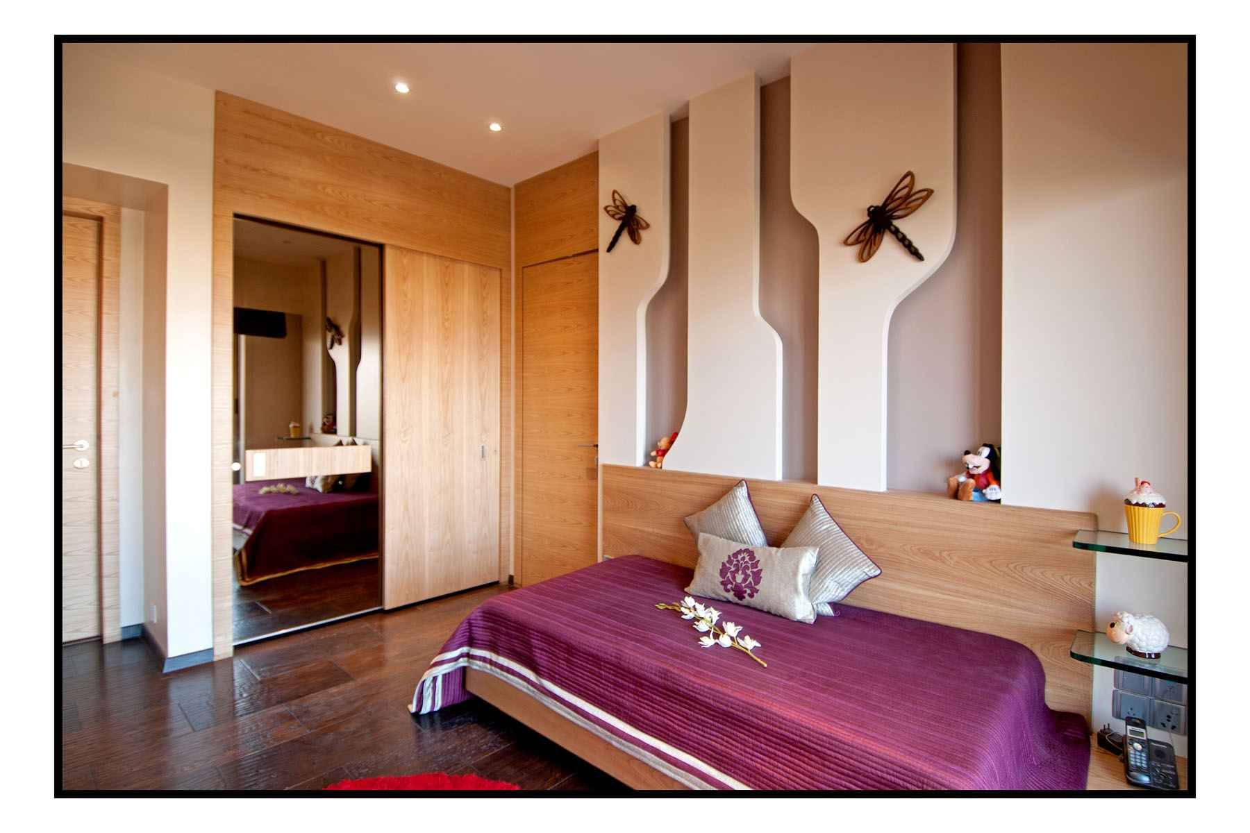 Luxury bedroom design by sameer panchal architect in Bedroom designs india