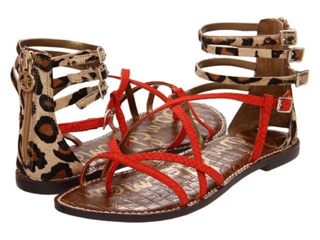 6950e16031e572 Gable Pewter Strappy Sandals - SAM EDELMAN